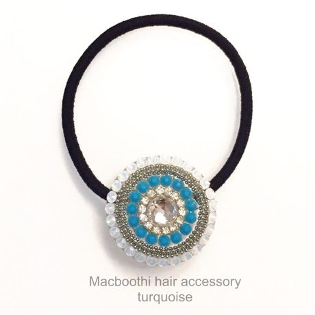 Macboothi hair accessory / turquoise