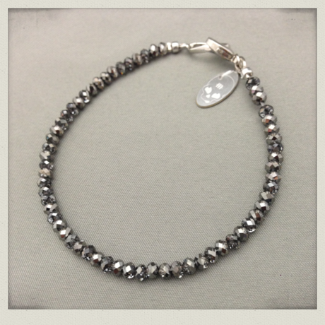 SIMPLE BRACELET - Silver Night