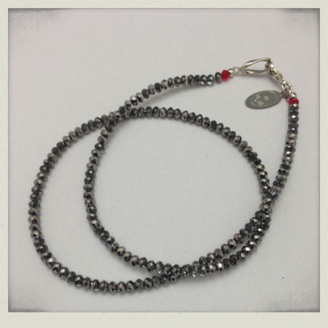 SIMPLE NECKLACE - Silver Night