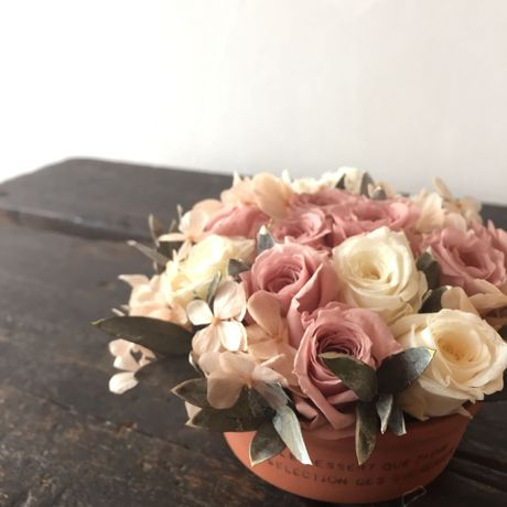 *Natural preserved flowers arrangement*MJ011