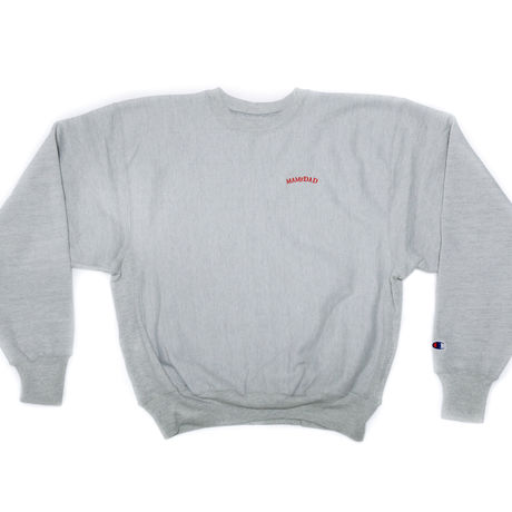 1point Arch logo crew neck sweat