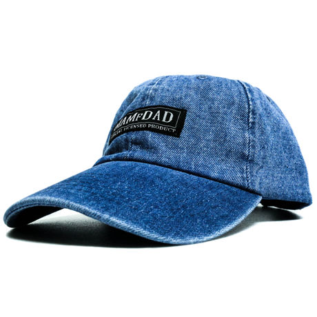 6Panel cap denim