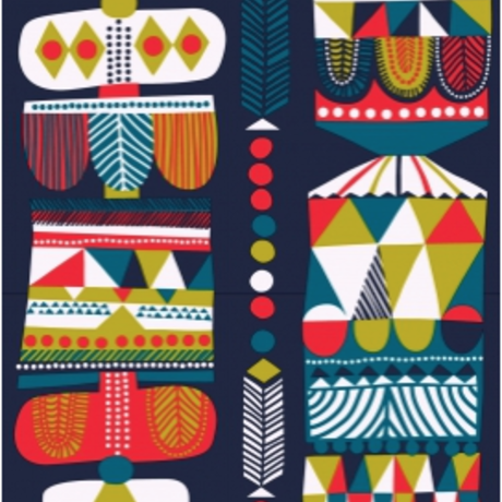 Toteemi fabric by Sanna Annukka