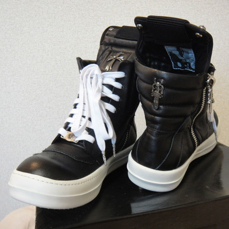 RICK OWENS X CHROME HARTS COLLABORATION TYPE SHOES