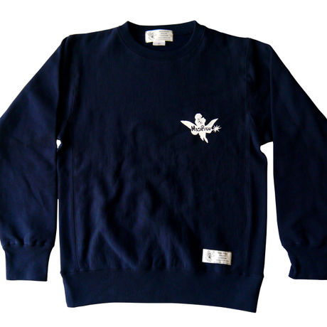 LOGOTYP2 SWEAT(NAVY)