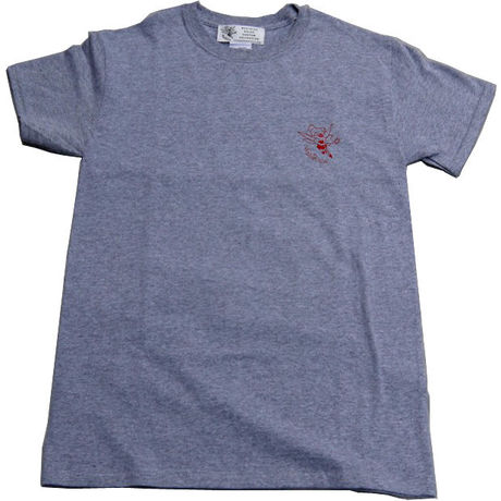 LOGO TEE-SHIRTS (GRAY/RED)