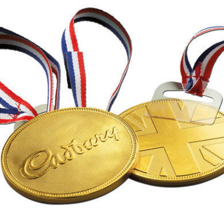 GOLD MEDAL CHOCOLATE 6 PIECE PACK