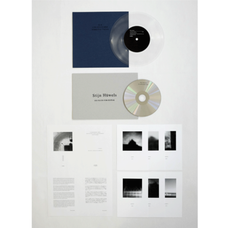 Vinyl + CD | Stijn Hüwels :: E.P. + SIX PIECES FOR GUITAR- MATTER012-R