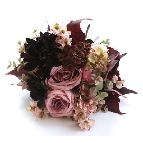 WEDDING BOUQUET bordeaux