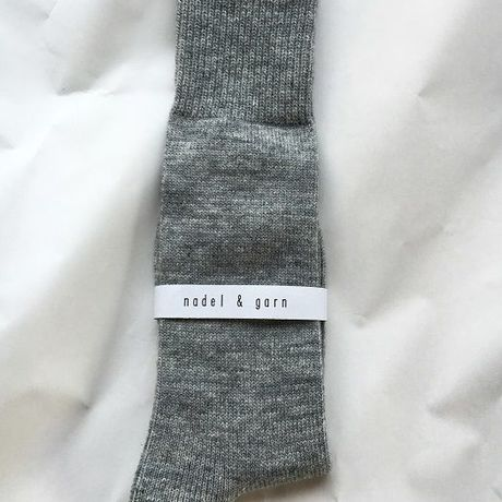Men's WOOL MIX SOCKS (GRAY)