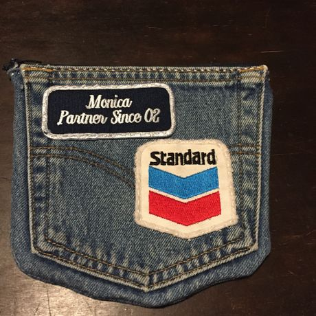 HAND MAID-USED DENIM PORCH