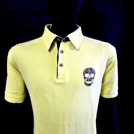 Leopard Skull POLO Yellow