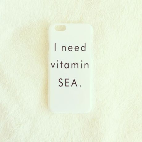 """【iPhone 6 / 6S】""""I need vitamin SEA."""""""