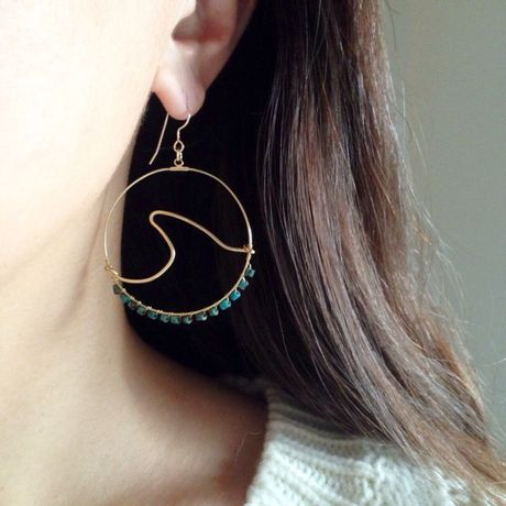wave motifs pierce