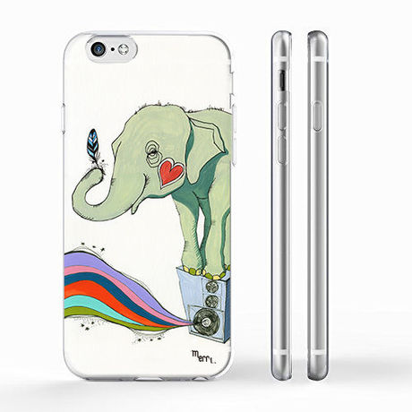 """""""POWER"""" (elephant) iPhone Cover [ soft / hard ]"""