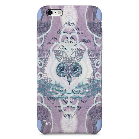 """""""Forest Owl"""" -purple-  iPhone 6/6s/5/5s/6plus/6s plus Cover [ soft / hard ]"""