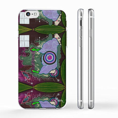"""""""Nuef"""" ヒツジ (sheep)  iPhone 6/6s/5/5s/6plus/6s plus Cover [ soft / hard ]"""
