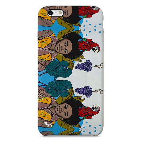 """""""Michael & grape"""" マイケルとぶどう iPhone 6/6s/5/5s/6plus/6s plus Cover [ soft / hard ]"""