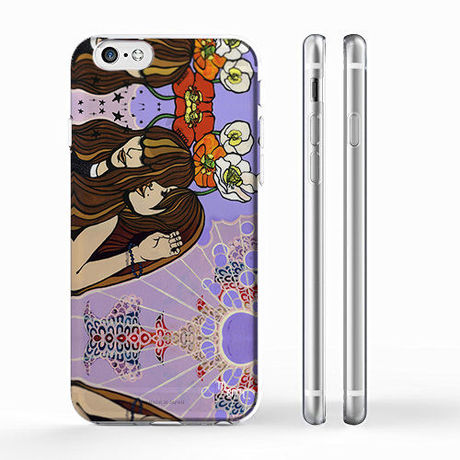 """""""Birthday"""" girls  iPhone 6/6s/5/5s/6plus/6s plus Cover [ soft / hard ]"""