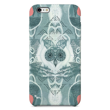 """""""Forest Owl"""" -gray-  iPhone 6/6s/5/5s/6plus/6s plus Cover [ soft / hard ]"""