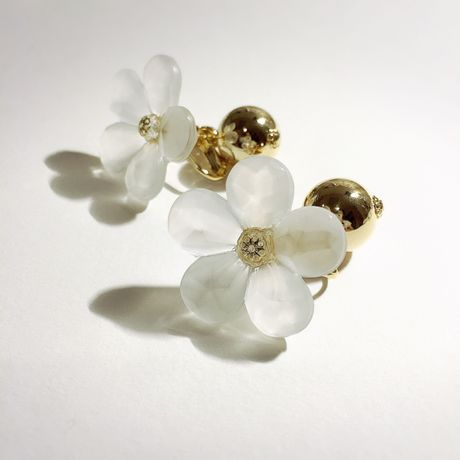 SNOW FLOWER metal gold