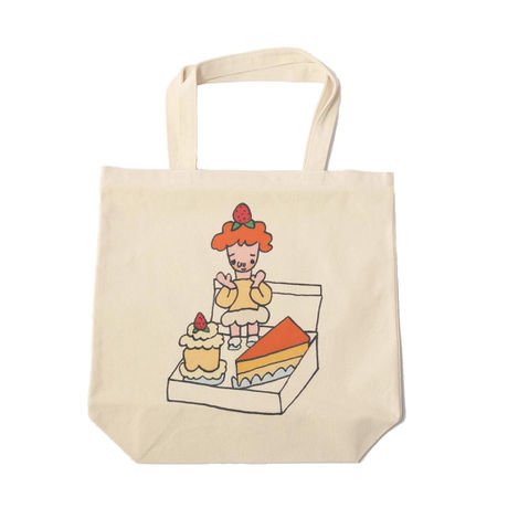 CAKE BOX Tote bag