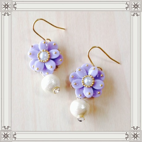 flower & cotton pearl