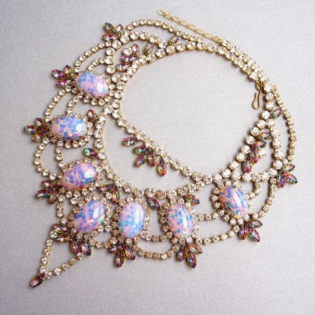 MIRI MARI Vintage Luxe Necklace ~ Opal