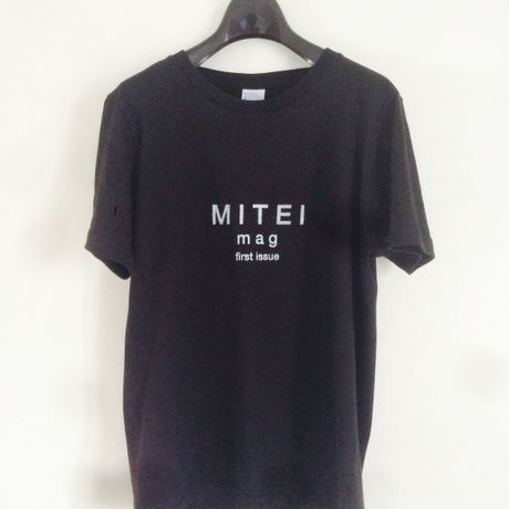 first issue T-shirts black