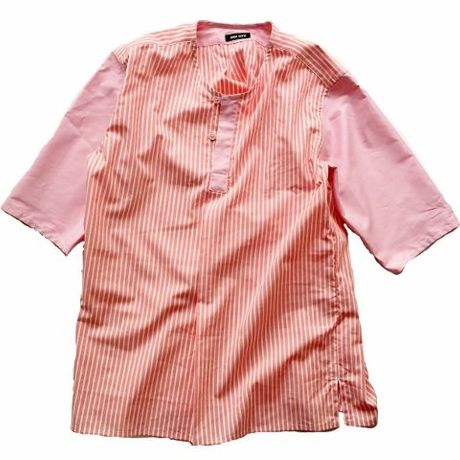 day off shirt pullover coralpink