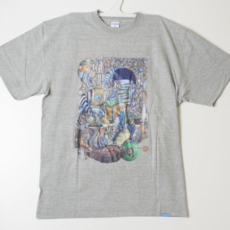 Shun art work Tshirts 01 Grey