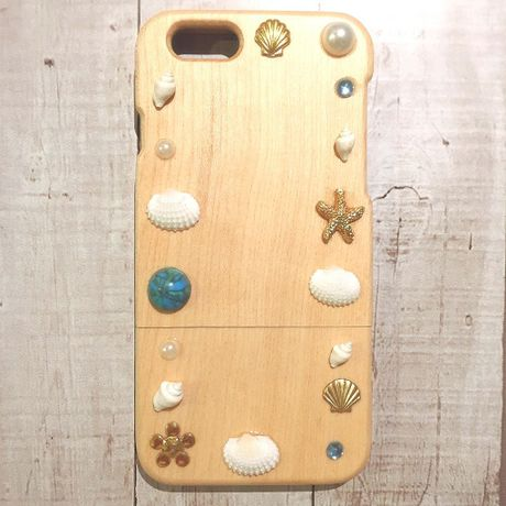 ph03 wood shell iphone6 case