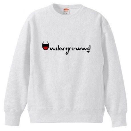 "MONARK""underground""crewneck sweat (white)"