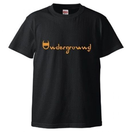 "MONARK""underground""tee (black/orange)"