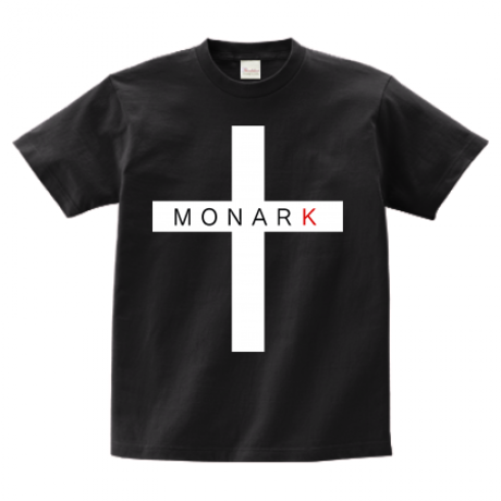 "MONARK ""cross"" S/S tee (Black)"