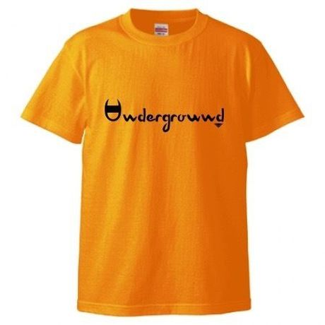 "MONARK""underground""tee (orange/black)"