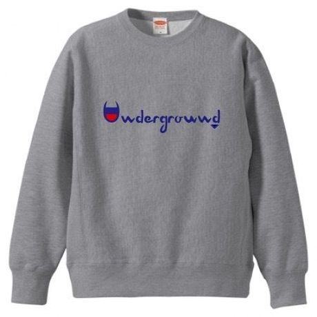 "MONARK""underground""crewneck sweat (gray)"