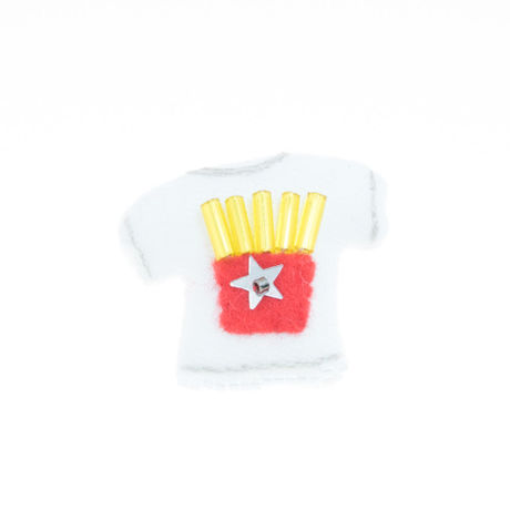 Miniature T-shirt Brooch(potato)