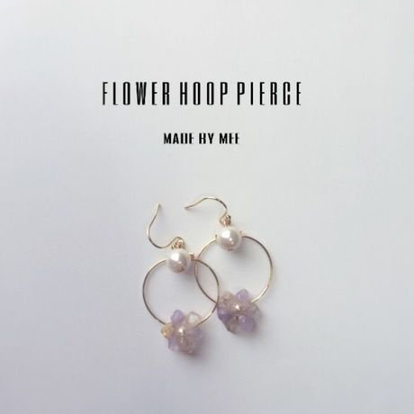 flower hoop pierce