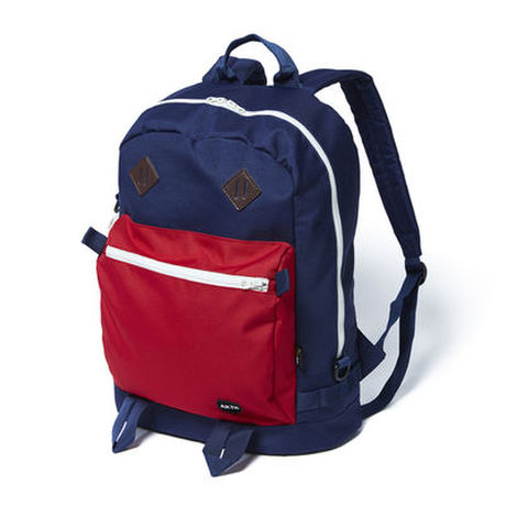 GYM BACKPACK NAVYxRED