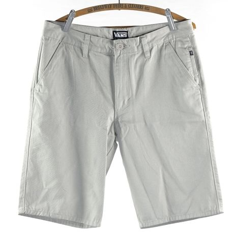 """VANS """" COMMUNNO CHINO FLAT FRONT WALKING SHORTS""""  US30"""