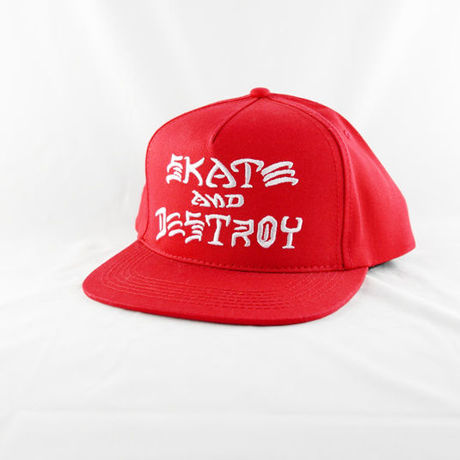 """THRASHER """"SKATE AND DESTROY"""" SNAPBACK"""