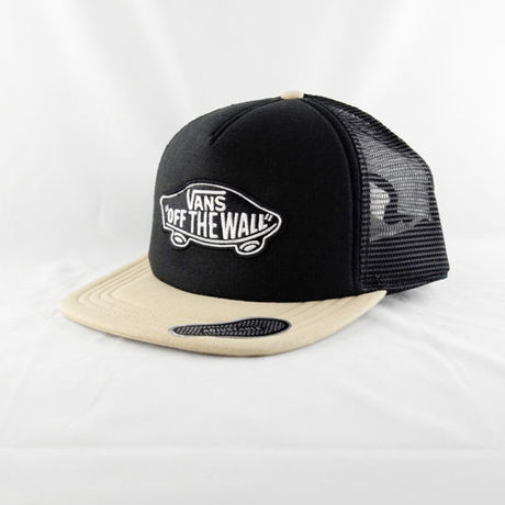 """VANS """"CLASSIC PATCH"""" TRUCKER / Black/Natural Hemp"""