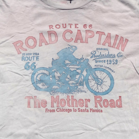 ROAD CAPTAIN T-Shirt  [WHITE]