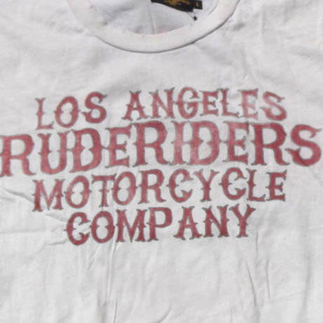 LAX CAL T-Shirt WHITE  [RUDERIDERS]