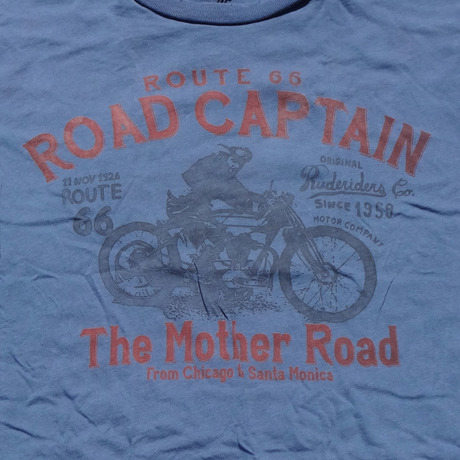 ROAD CAPTAIN T-Shirt NAVY  [RUDERIDERS]