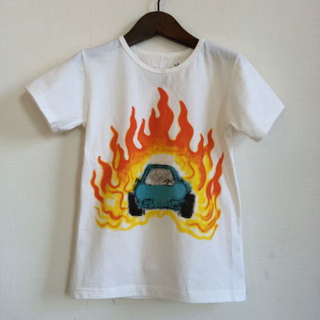 muu muu / FIRE CAR S/S T