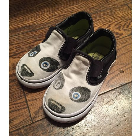 Kids Vans PANDA shoes