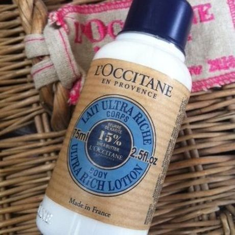 *L'Occitane shea body lotion*