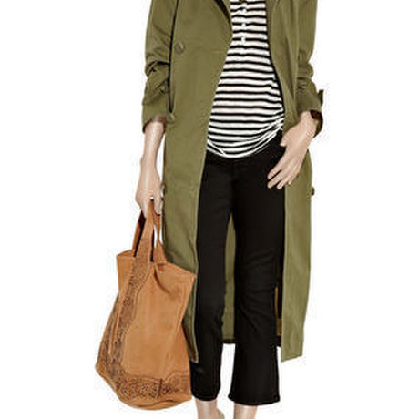 *By Malene Birger* Campaign oversized cotton trench coat